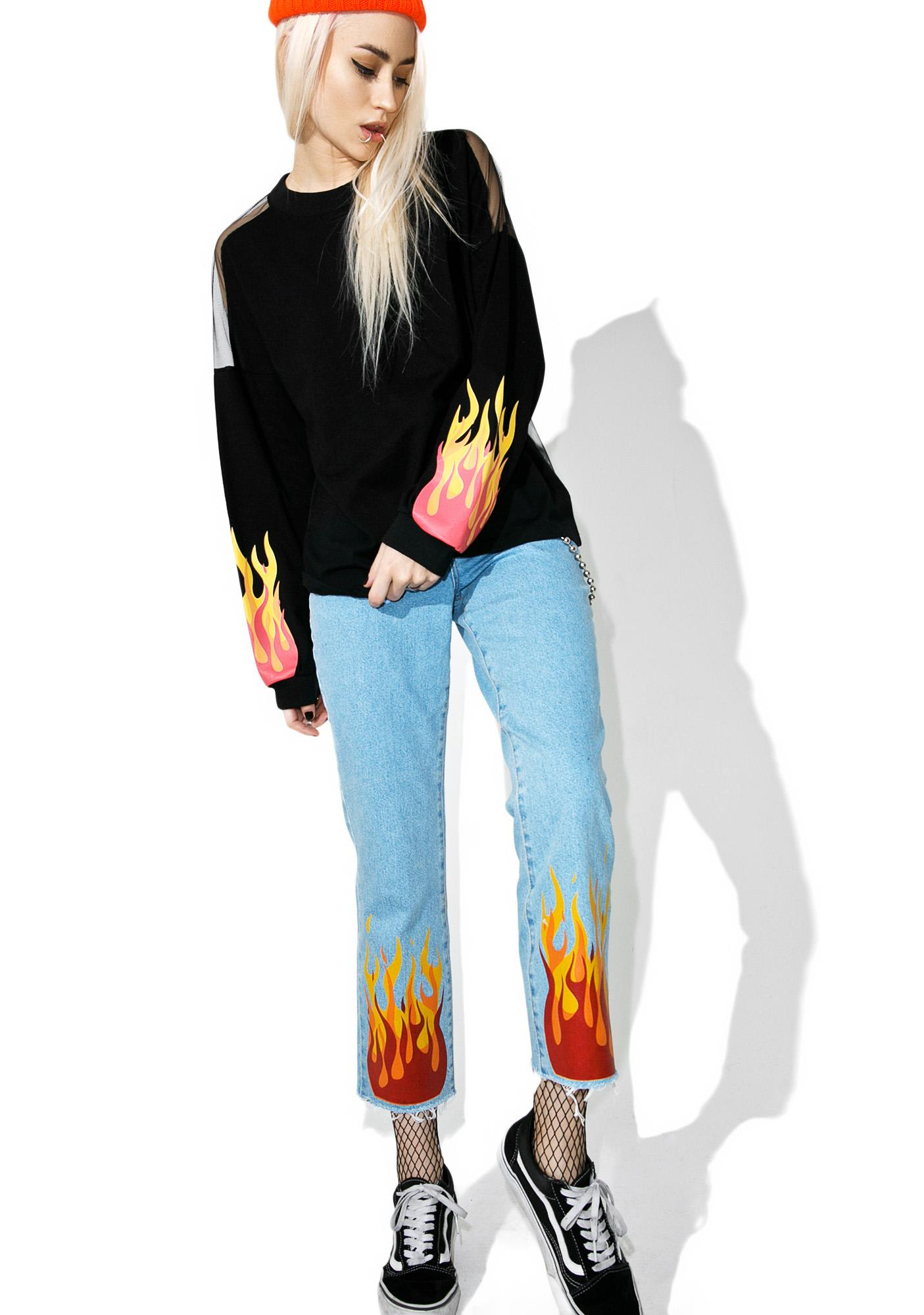 The Ragged Priest Hellfire Jeans