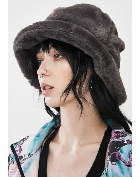 Storm Icy Heaven Faux Fur Bucket Hat