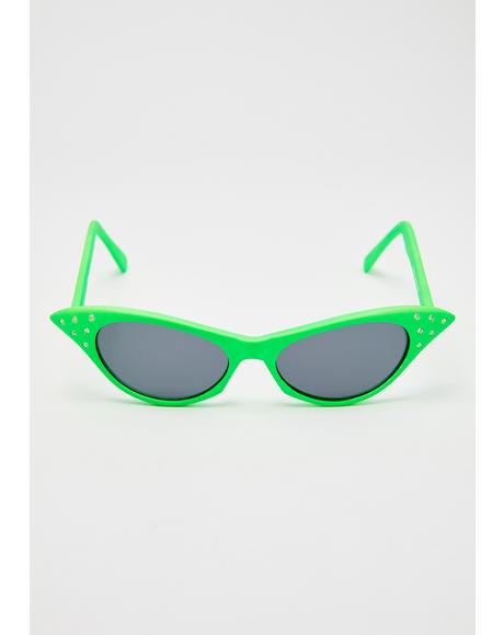 Dank BLAM! Cat Eye Sunglasses