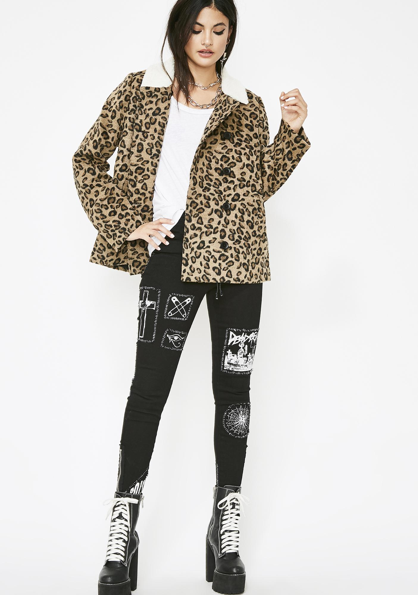Sharp Claws Leopard Coat