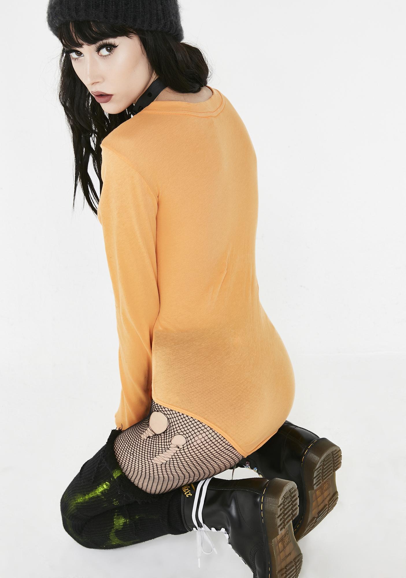 Wildfox Couture Jack-O-Heart Margot Bodysuit