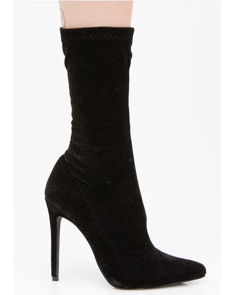 Darkwave Duchess Heeled Boots