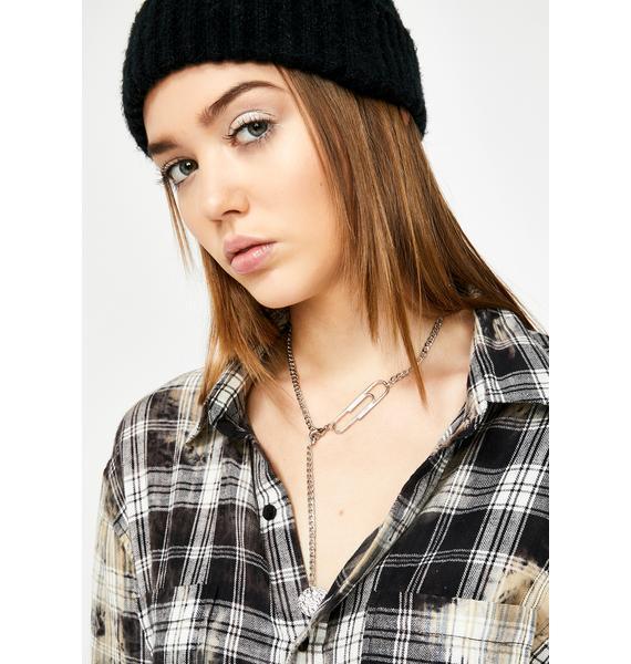 Clip Art Pendant Necklace