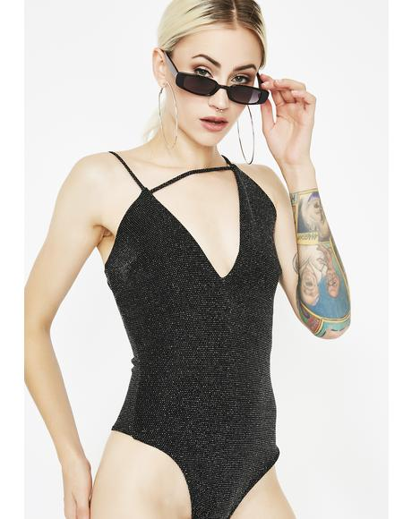 Lucky Star Asymmetrical Bodysuit
