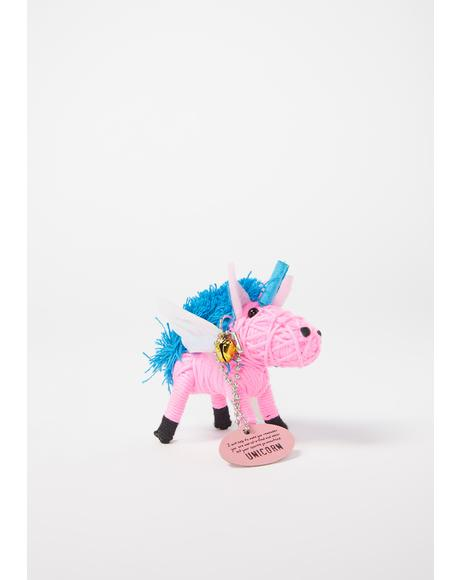 Unicorn Voodoo Doll