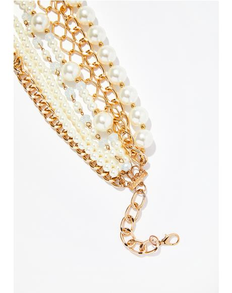 Hidden Treasure Pearl Necklace