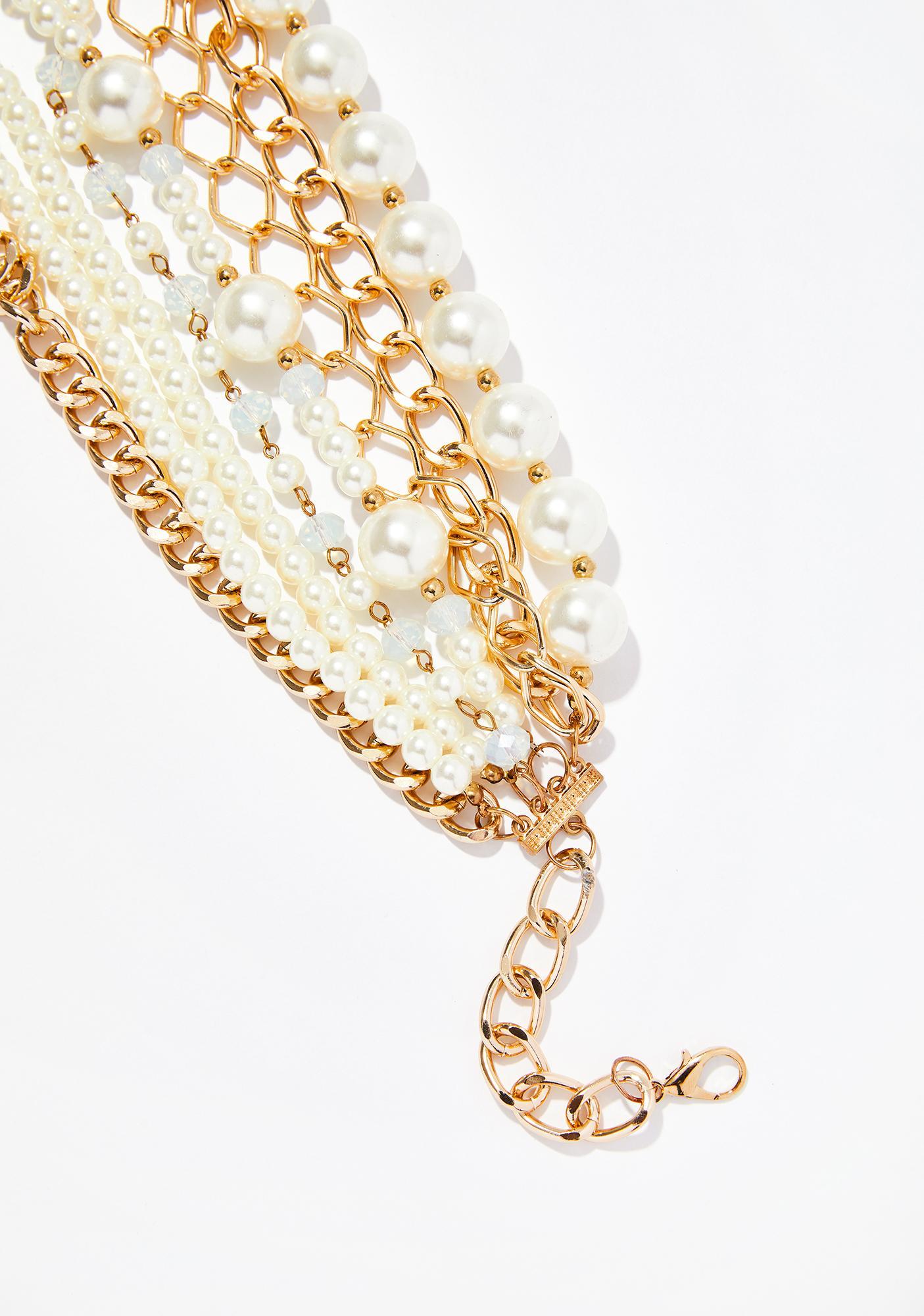 Hidden Treasure Pearl Necklace