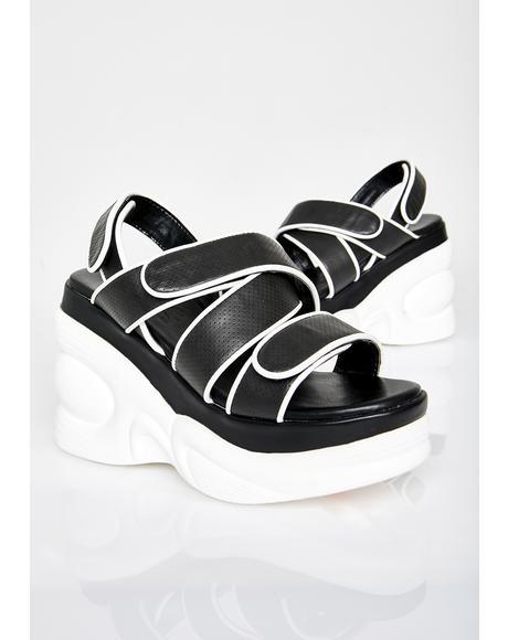 Girl Meets World Platform Sandals