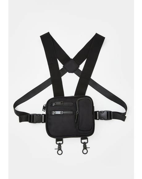 Power Pose Harness Fanny Pack