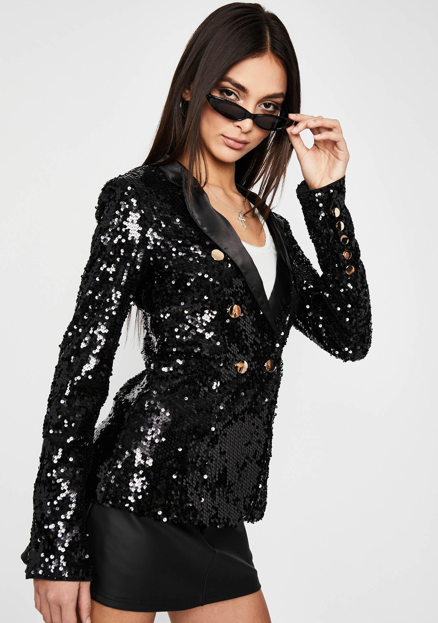 In The Spotlight Sequin Blazer