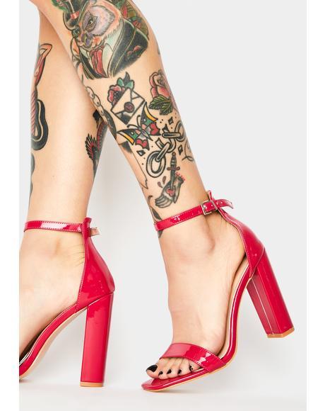 Bronx Patent Heels