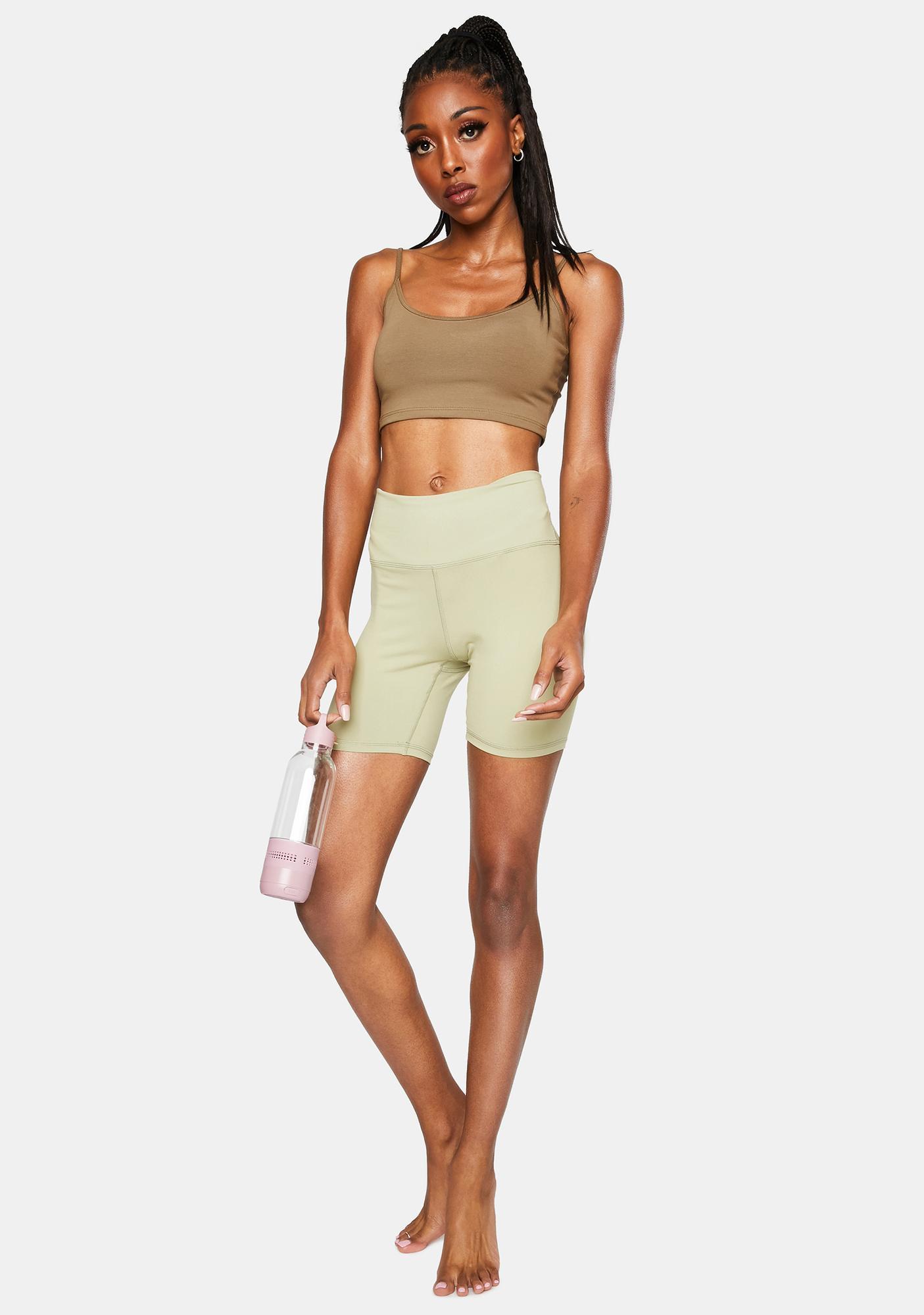Bailey Rose Sage Biker Shorts