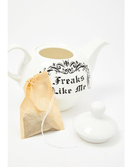 Freaks Like Me Tea For One Set
