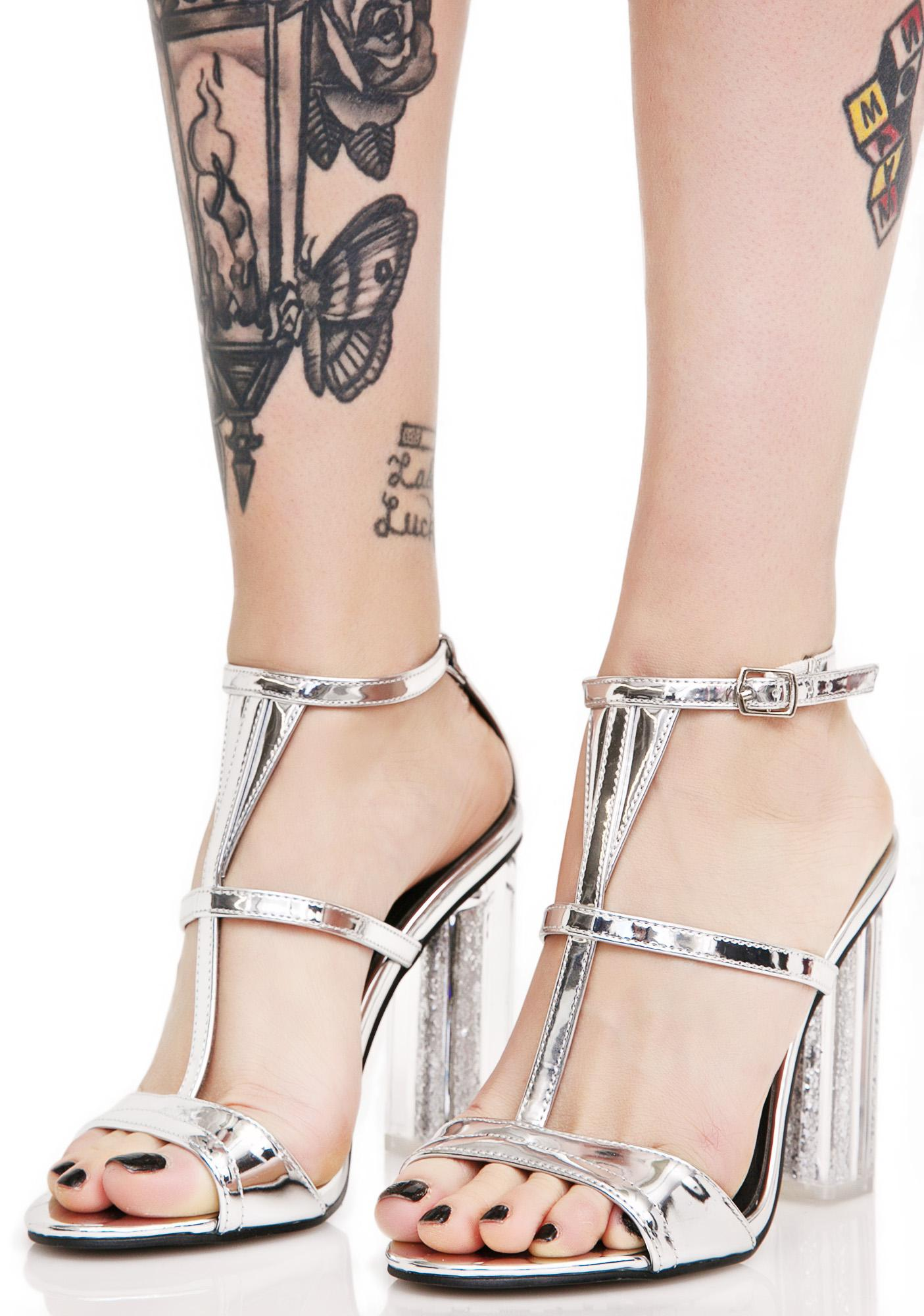 Miracle Worker Strappy Heels