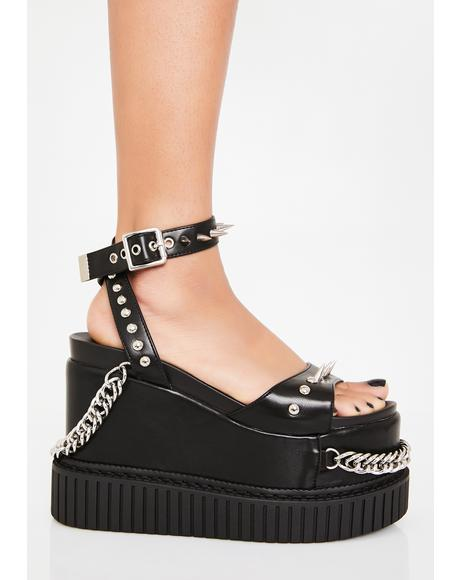 Next Level Creeper Platform Sandals