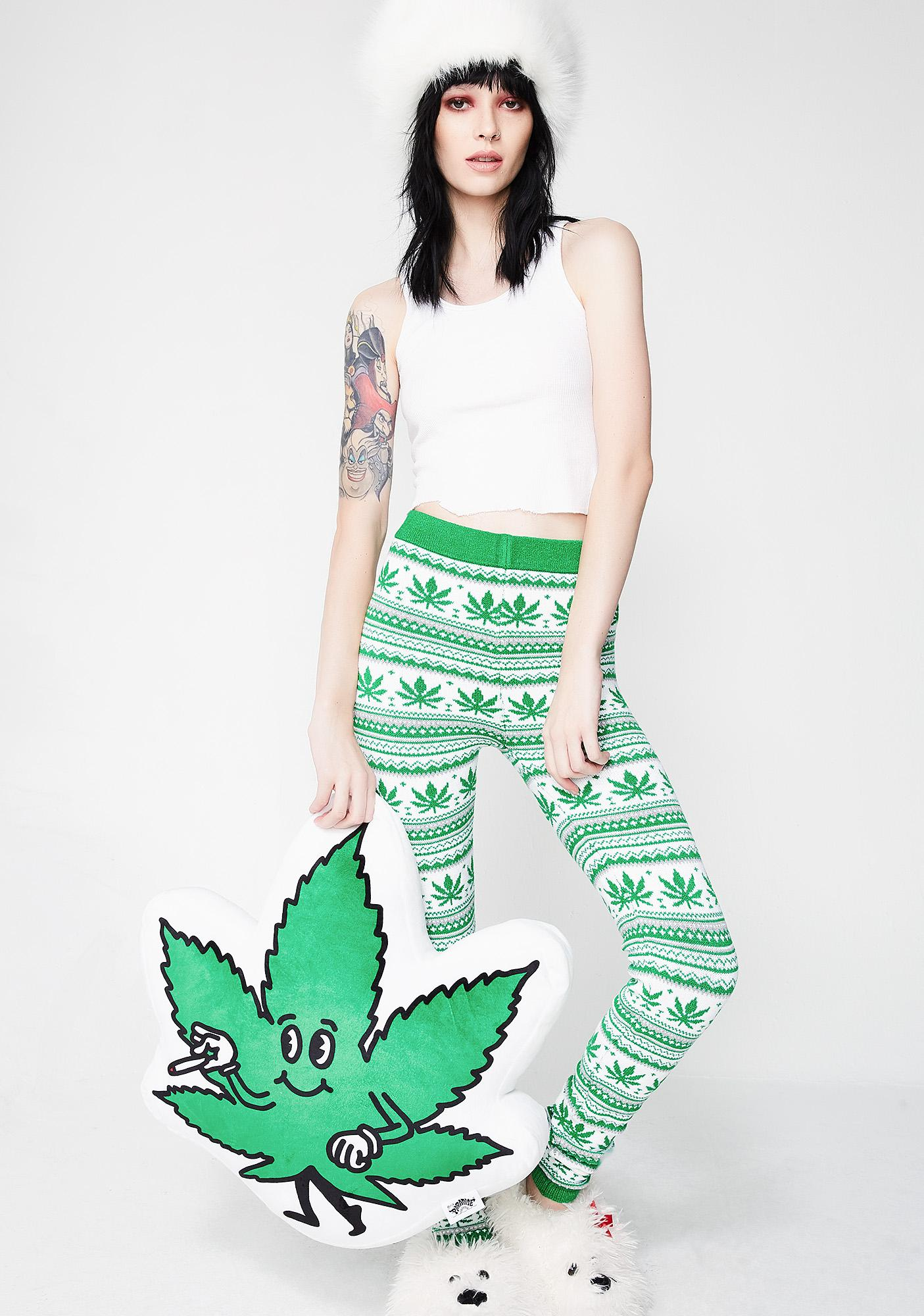 Knitty Kitty Cannabliss Knit Leggings