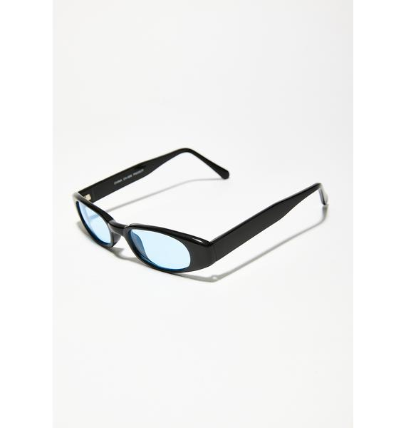 Sky Lulu Retro Sunglasses