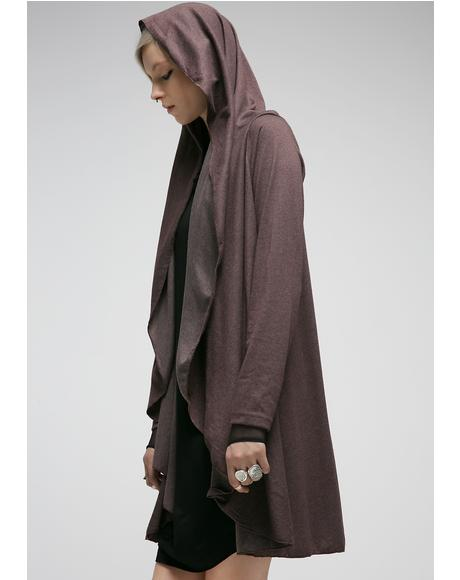 Premonition Hooded Cardigan