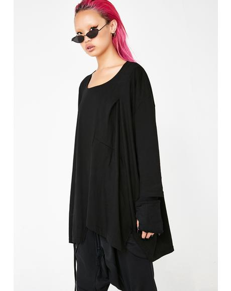 Don't Slip Oversized Tee