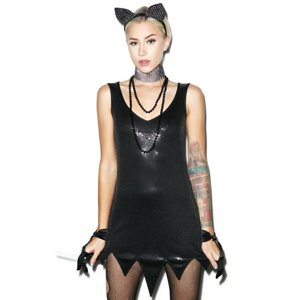 Sequin Scandal Dress