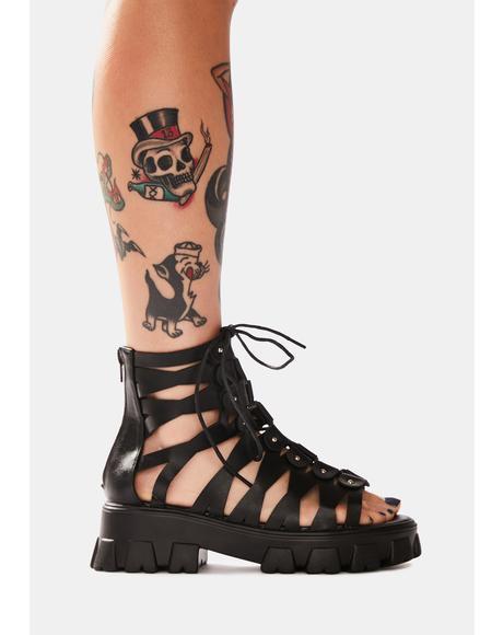 Conquer Gladiator Sandals