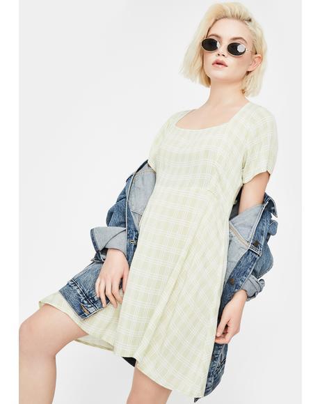 Sage Peky Mini Dress