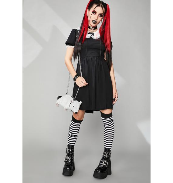 Widow Never Ending Nightmare Mini Dress