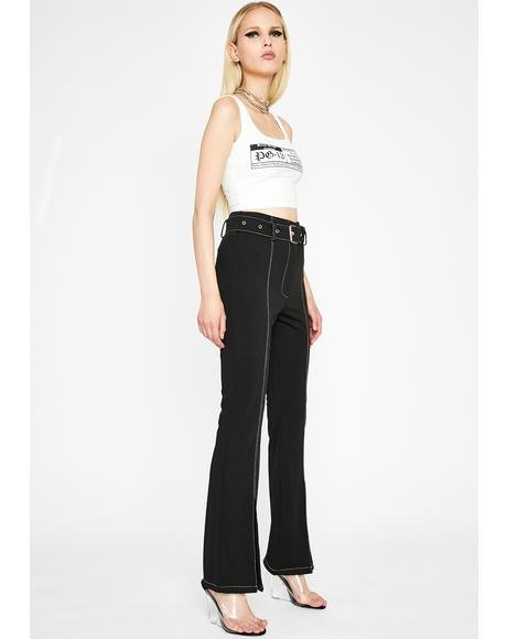 Hot Brag Wide Leg Pants