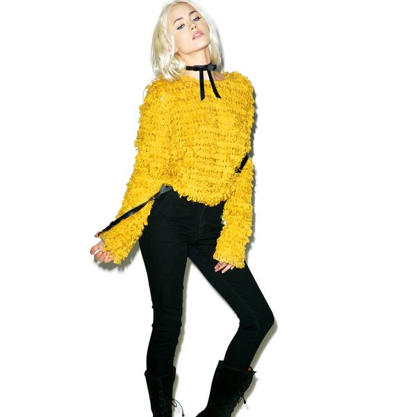 For Love & Lemons Joplin Pullover Sweater