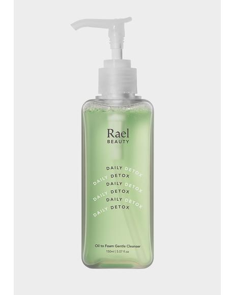 Daily Detox Oil To Foam Gentle Cleanser