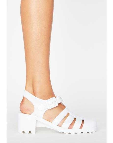 Feel This Moment Jelly Sandals