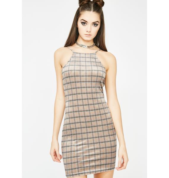 Hott For The Teacher Velvet Dress