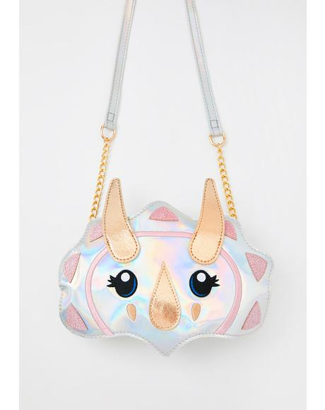 Cosmic Dino Crossbody Bag