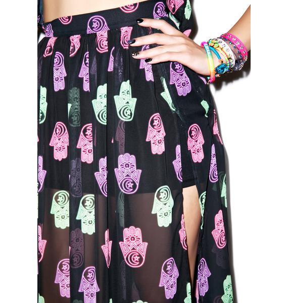 Hi! Expectation Hamsa Skirt