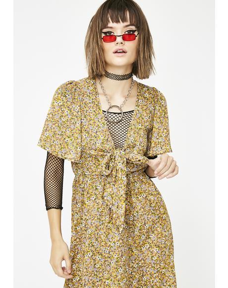 Grunge On The Prairie Maxi Dress