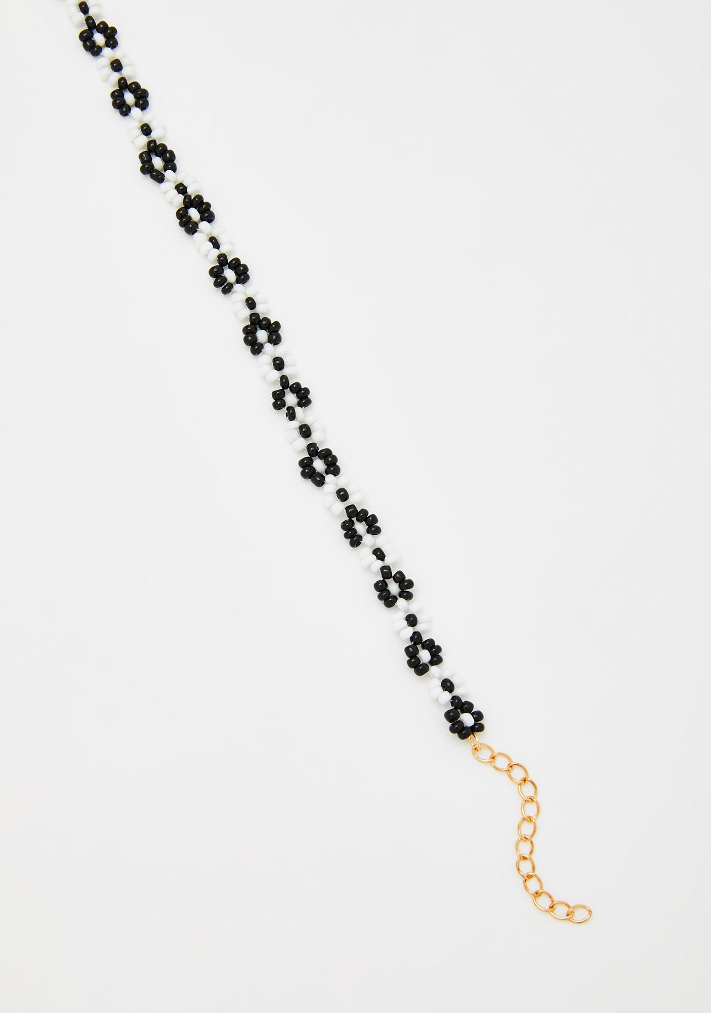 Parents' Day Beaded Choker