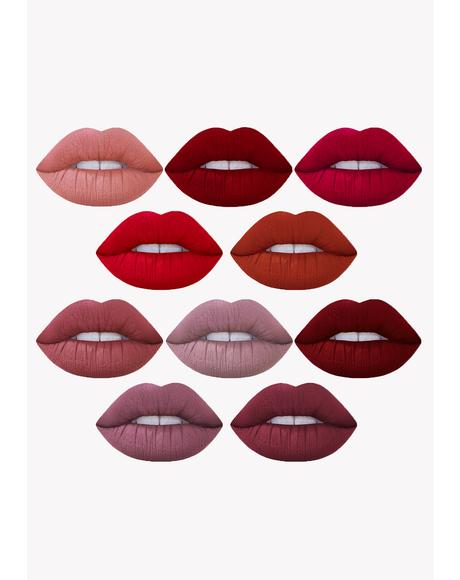 10-Piece Mini Velvetines Set