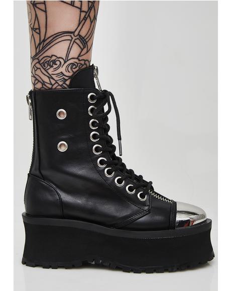Gravedigger Combat Boots