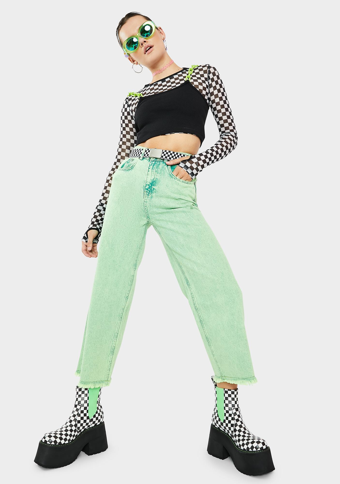 The Ragged Priest Jealous Flare Jeans