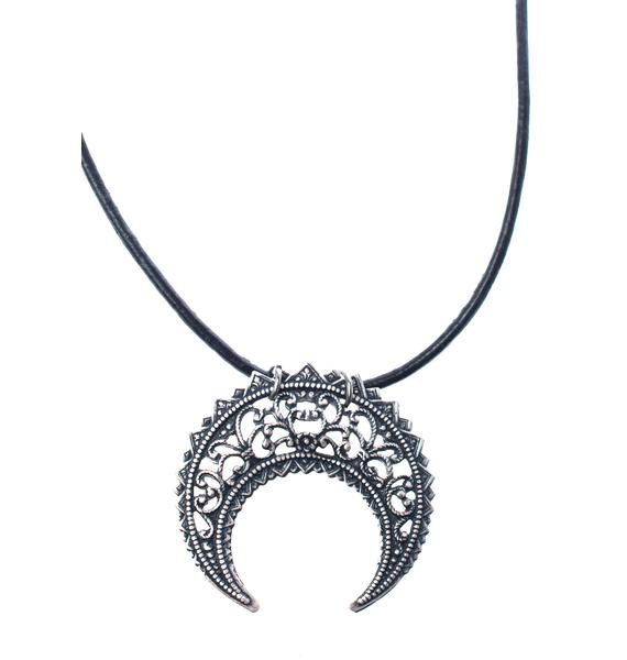 Regal Rose Eastern Crescent Choker