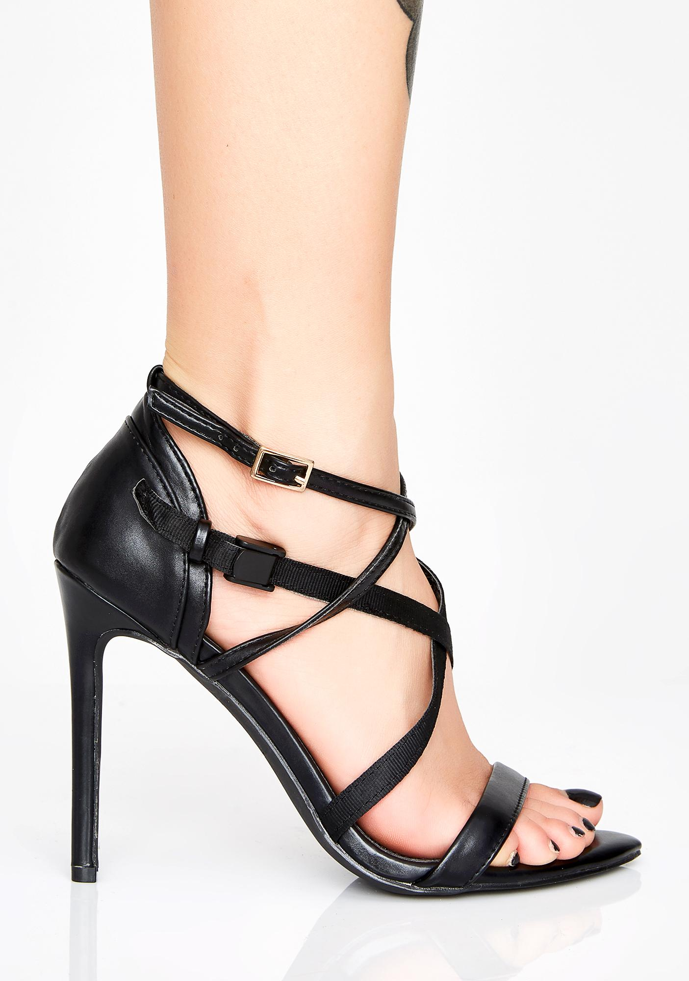 3ba42aaecf2c87 ... That s A Wrap Strappy Heels ...
