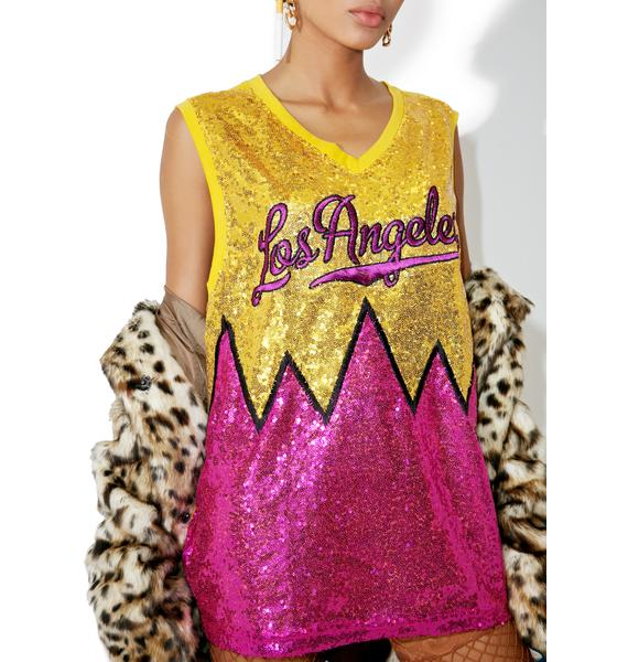 City Lights Sequin Tank