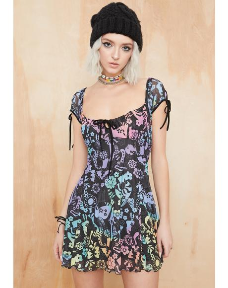 Night Cap Babydoll Dress