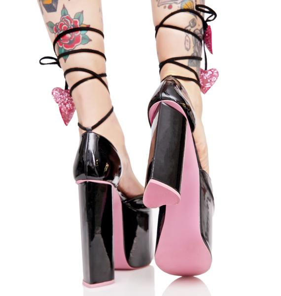Sugar Thrillz Cardiac Arrest Platform Heels