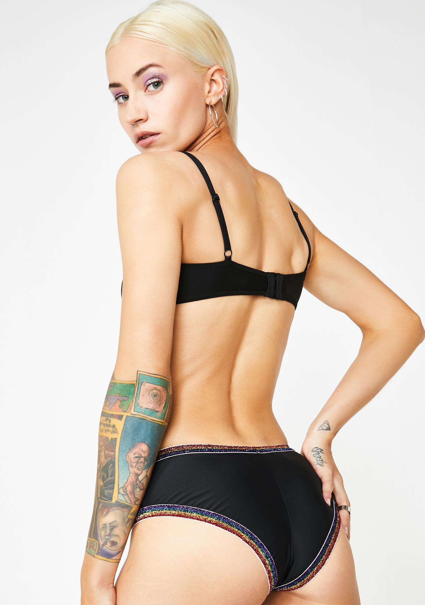 J Valentine Luna Divine Kiss Booty Shorts