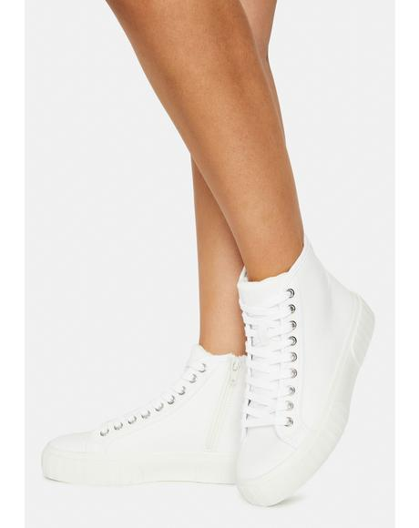 Chanced High Top Sneakers