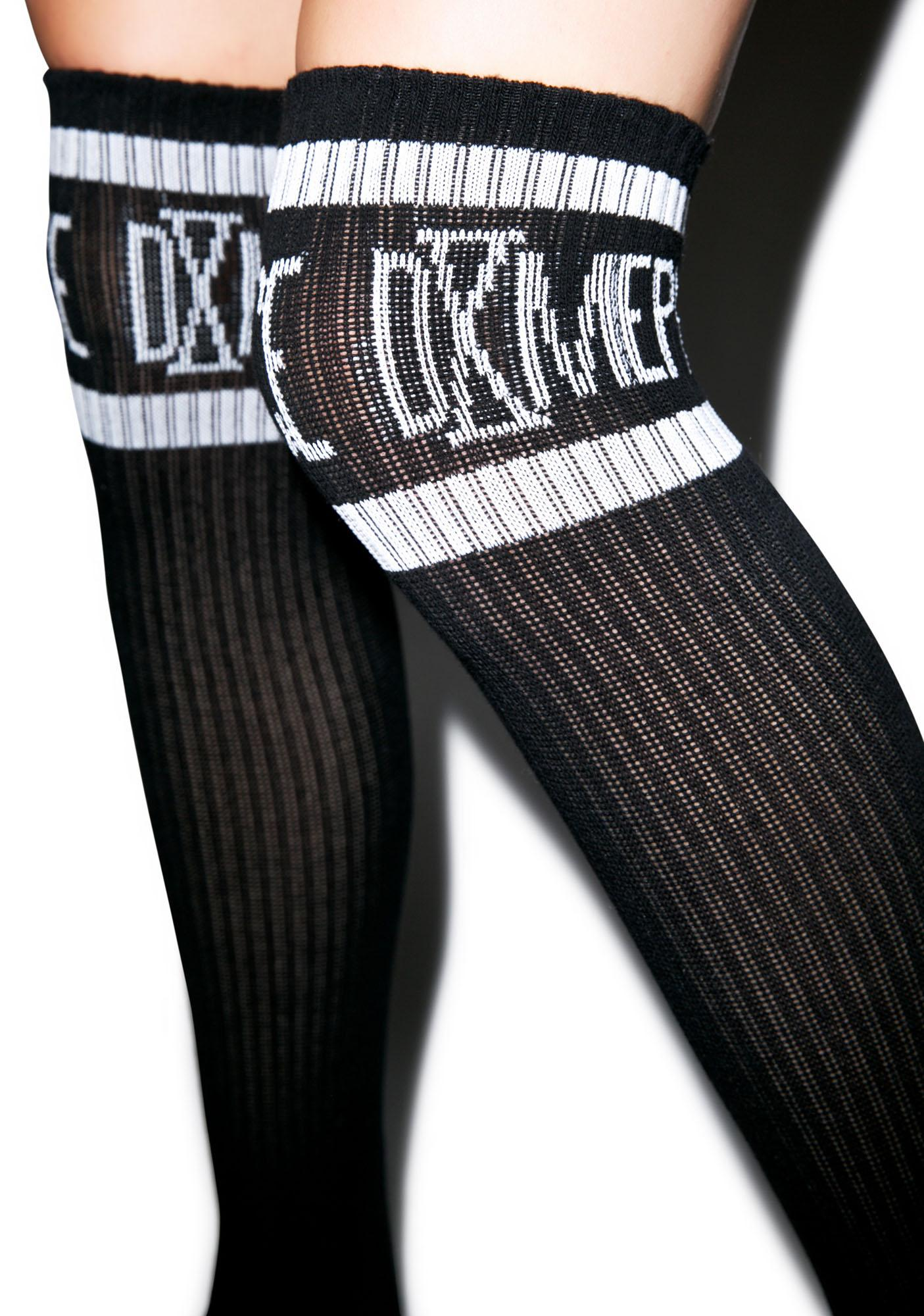 Dimepiece Athletic Logo Knee High Socks