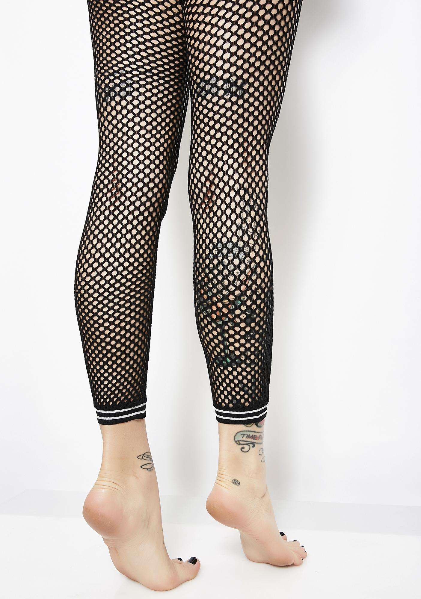 Game Ready Fishnet Tights