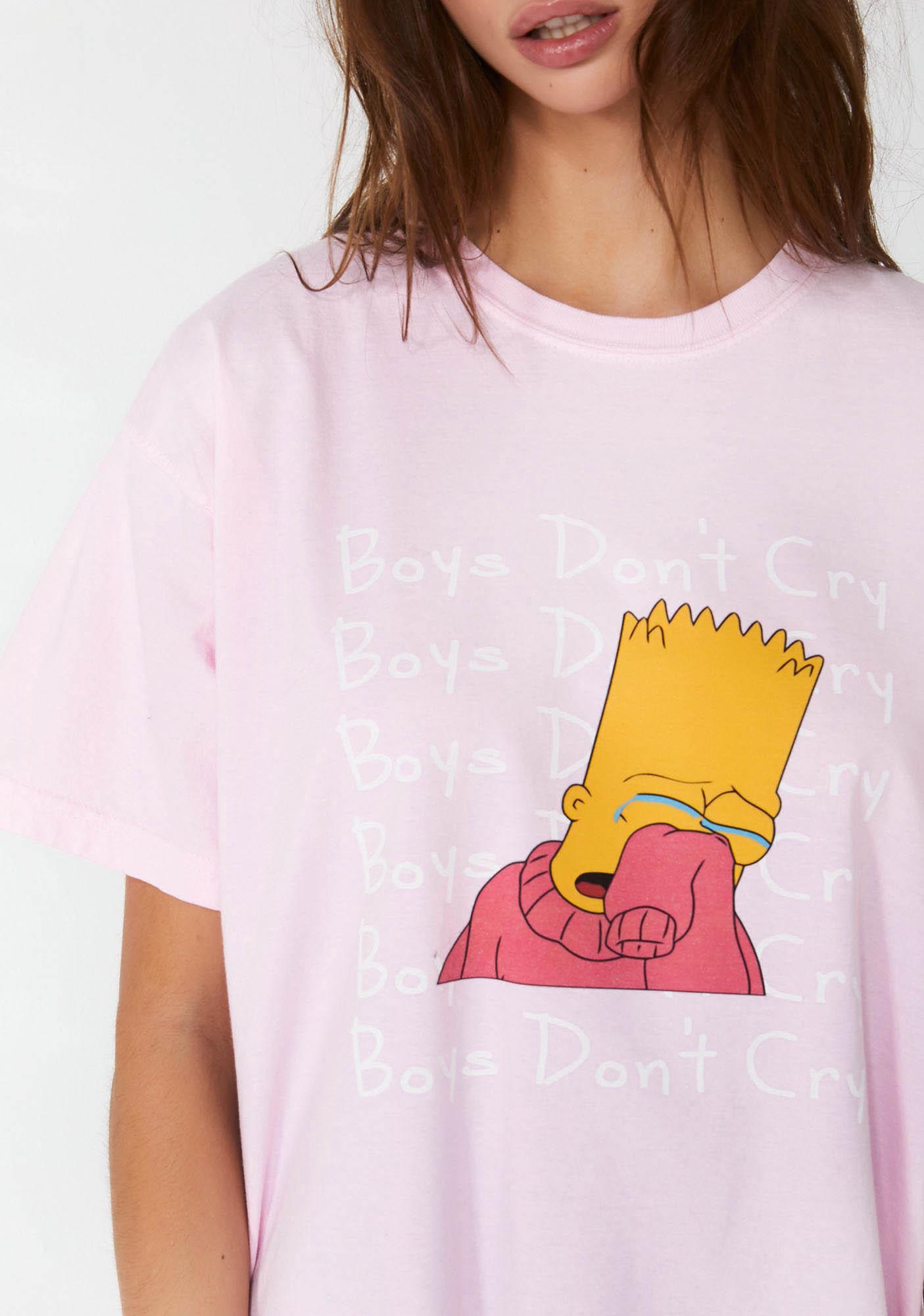 FEMMEMUTE Boys Don't Cry Tee