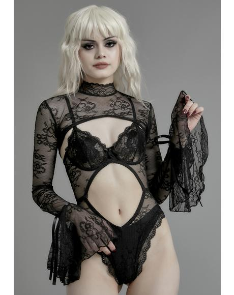 Unforgiving Underworld Lace Set